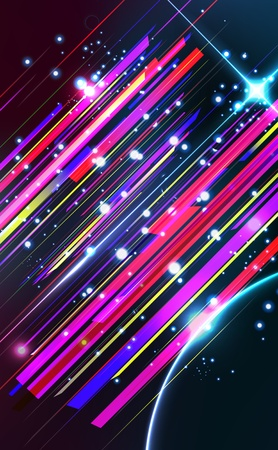 Abstract lens flare trendy  background  Vector illustration
