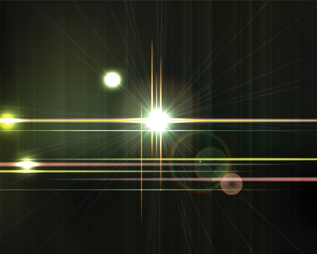 Abstract shiny vector technology trendy background   Neon abstract, reflection lines  Vectores