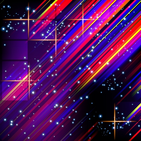 Abstract vector lines design on dark background