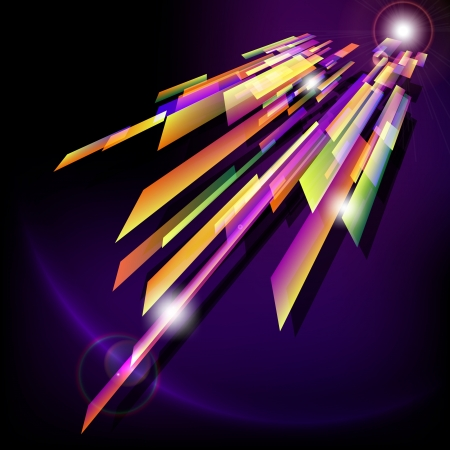 Abstract background  with light effect  Vector illustration