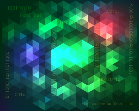 Abstract geometric background Design  illustration Stock Vector - 17210315