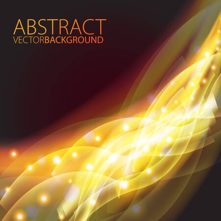 Futuristic abstract glowing background  Stock Vector - 17210320