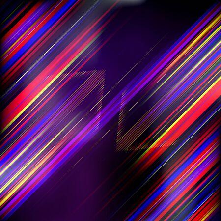 Abstract trendy background with arrows  Vector