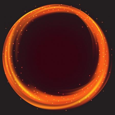 Fire circle frame
