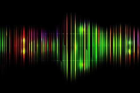 Dark abstract shiny technology spectrum background Stock Vector - 19827385