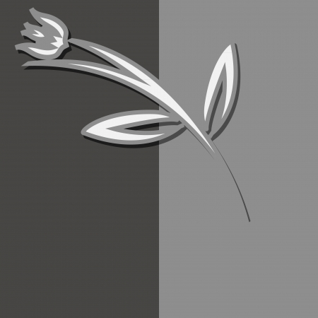 Modern vector  flower  template for Your design  Vector