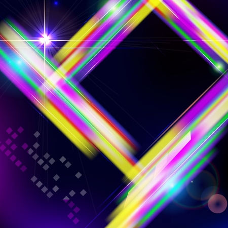 Abstract shiny technology trendy background. Stock Vector - 20382795