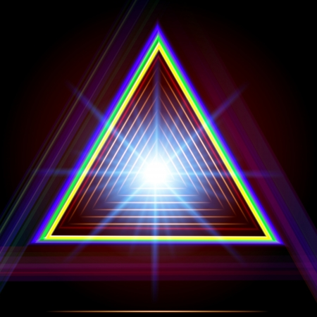 Abstract triangle techno vector background. Stock Vector - 24954121