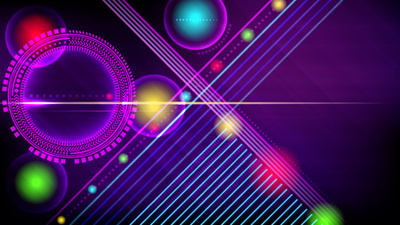 Abstract technology-style vector background.