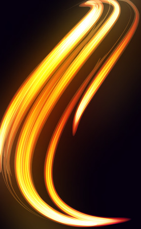 Abstract vector  background-fire shape. Vector