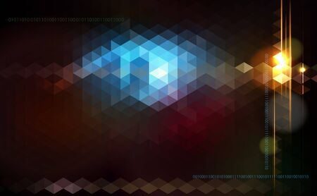 Abstract shiny vector technology trendy background.