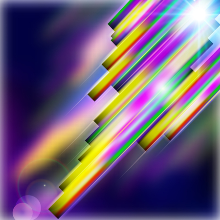 straight lines: Abstract shiny technology straight lines vector background.