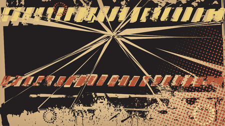 impetuous: Grunge Explosion Background