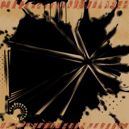 Grunge Explosion Background