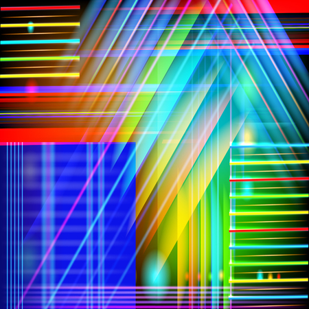 Abstract vector technology-style  background  with light effect.