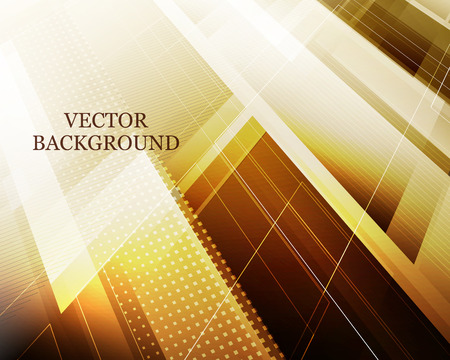 Abstract futuristic background with polygonal shapes and place for Your text. Vector illustration.