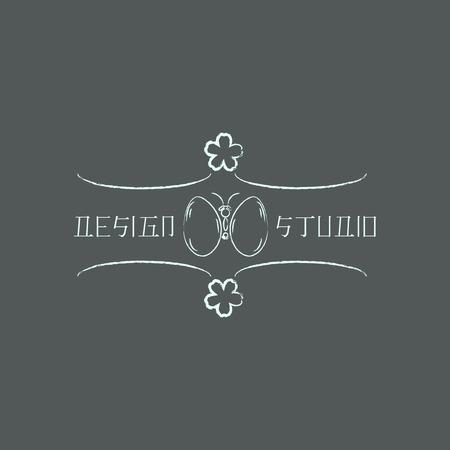 identidad cultural: Logo plantilla en estilo oriental. Logotipo de dise�o �tnico para los negocios. Ornamento oriental japon�s, chino y otros. S�mbolo tradicional asi�tica. Vectores