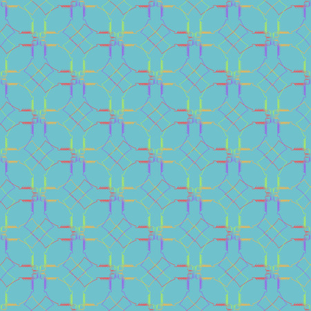 dise�o textil: Geometric ornament seamless pattern.  Textile design template seamless background. Round, polygonal and grunge motif endless texture. Sample vector illustration.