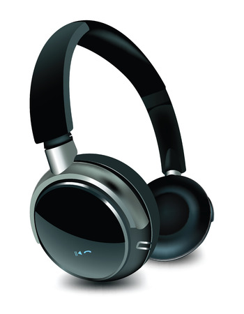 Detailed vector headphone. To see more detailed vector see in my portfolio... Vector
