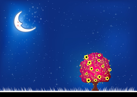 Imagine dreams background. To see more go to my portfolio... Stock Vector - 5201269