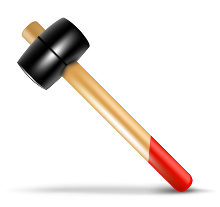 Detailed vector hammer. To see more great illustrations go to my portfolio.... Illustration