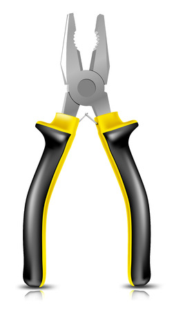 Detailed vector pliers. To see more detailed illustrations go to my portfolio.... Illustration