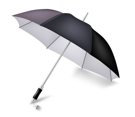 fall protection: Vector elegant umbrella. To see more detailed vectors go to my portfolio...