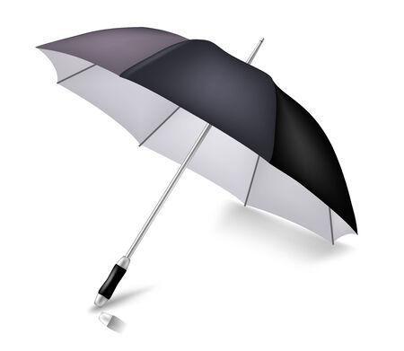 Vector elegant umbrella. To see more detailed vectors go to my portfolio... Stock Vector - 5424706
