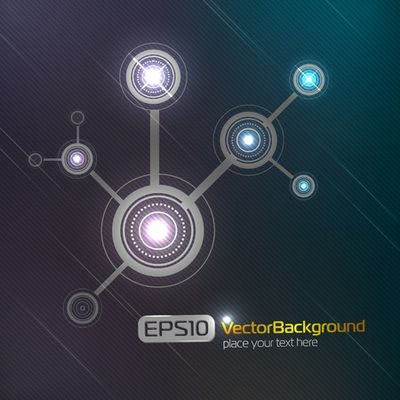 Abstract background Stock Vector - 9934895