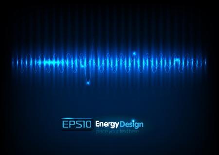 Vector abstracte energie bakground