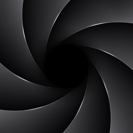 Vector aperture background Vector
