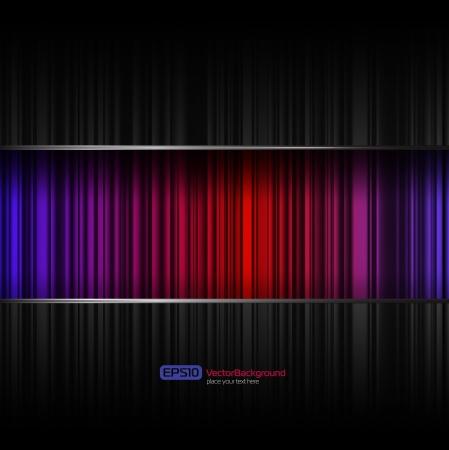 oscilloscope: Vector abstract background
