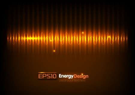 Vector abstract energy background