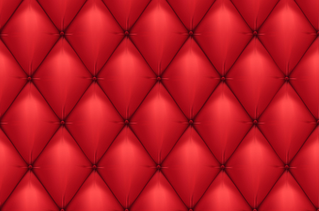 leather chair: Vector quilted leather Illustration