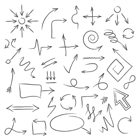 icono flecha: Flechas Vectores
