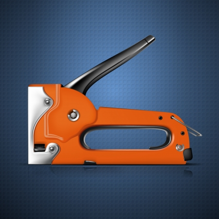 staple gun: Stapler Illustration