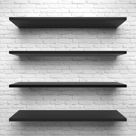 book store: Shelves