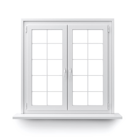 window panes: Window Stock Photo