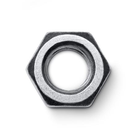 Metal nut Foto de archivo