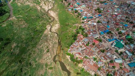 aerial view of jangwani area