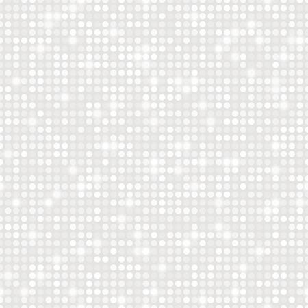 platina: Platinum abstracte naadloze patroon met gloed Stock Illustratie