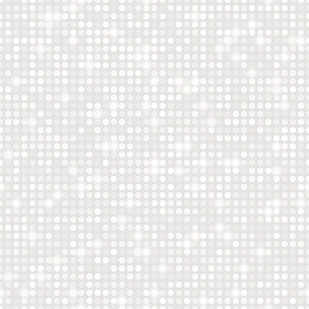 Platinum abstract seamless pattern with glow