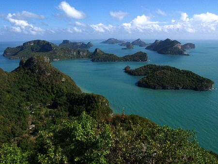 Islands in Angthong Marine National Park (Thailand)