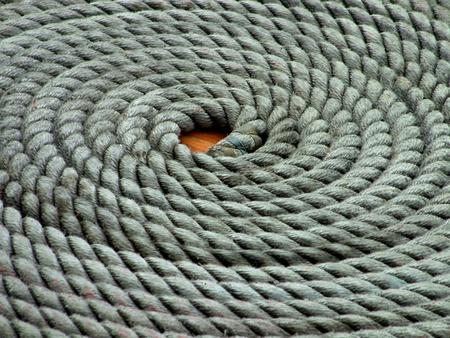 spirale: Segelyacht Rope Coil