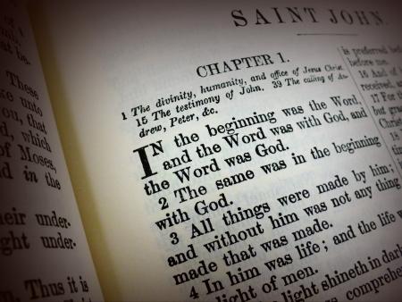scripture: Bible Verse John 1