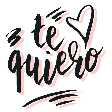te quiero mucho meaning