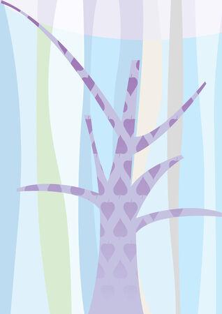 tree background Stock Vector - 4251058