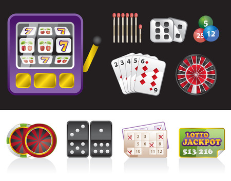 gambling tools Vector