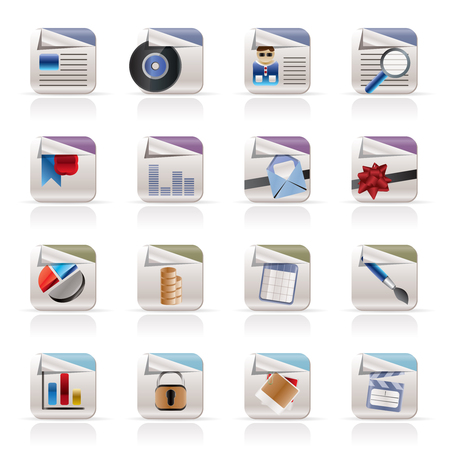 searches: Computer Icons - File Formats - Vector Icon Set