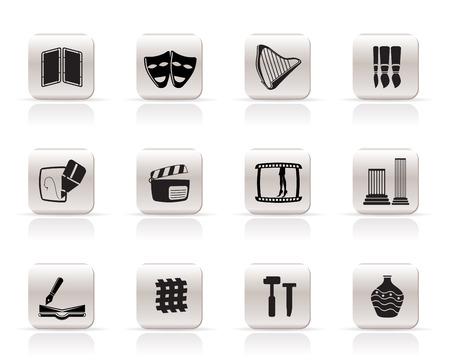 Art Icons - Vector Icon Set Vector